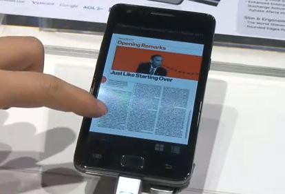 Samsung Galaxy S 2 Hubs