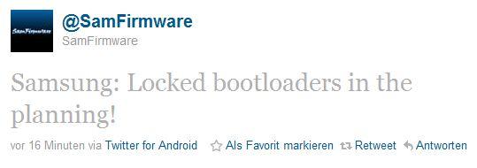 Samsung Bootloader