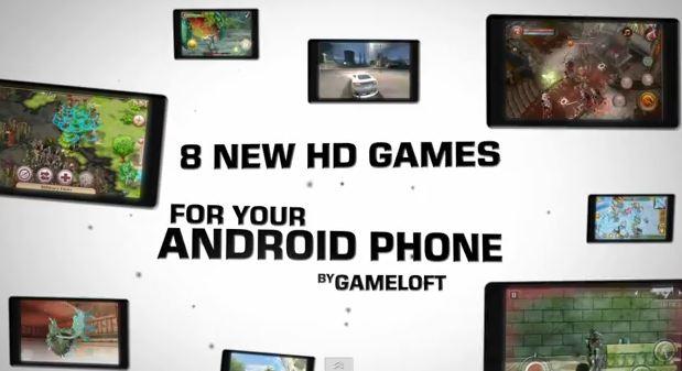 8 Spiele Gameloft