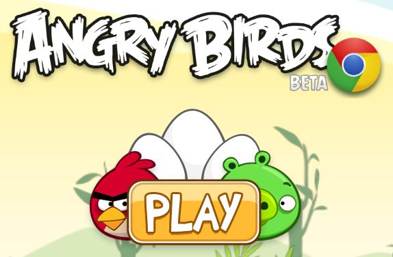 Angry Birds Chrome Beta