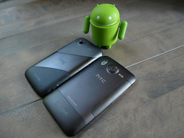 HTC Sensation vs. HTC Desire HD
