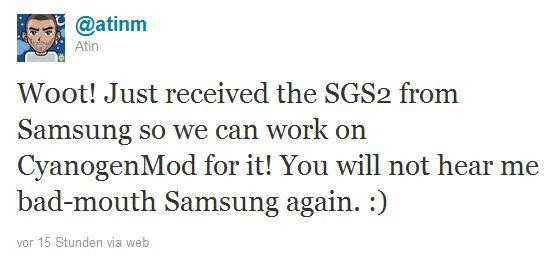 sgs2 cyanogen tweet