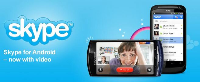 skype mit video