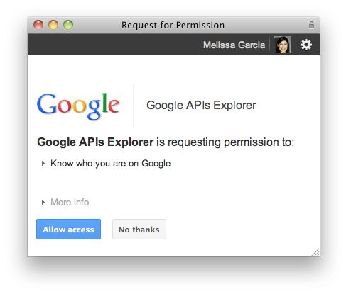 google plus api