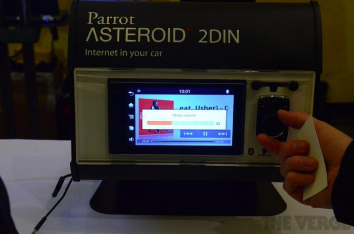 Parrot Asteroid (8)