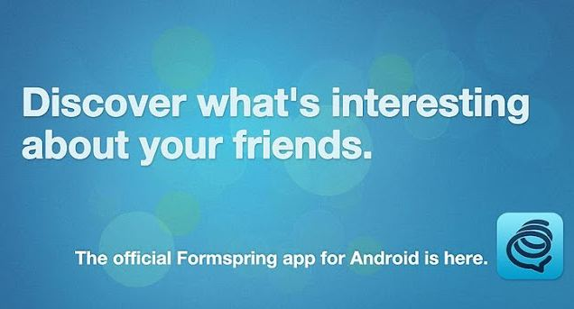 formspring android