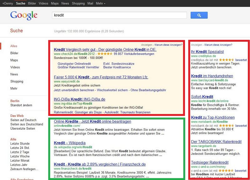 google-suche-werbung