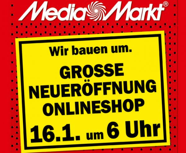 media markt startet online shop mit einigen schn ppchen darunter notebooks fernseher und. Black Bedroom Furniture Sets. Home Design Ideas