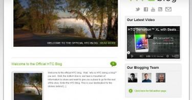 htc blog screenshot