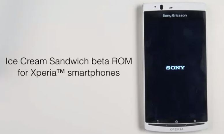 ics beta sony