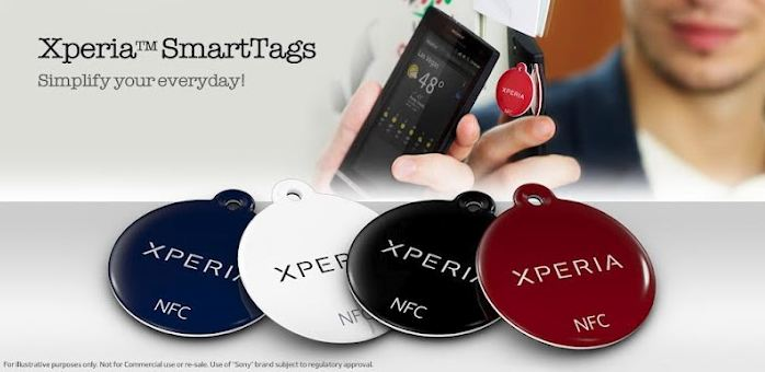 Xperia SmartTags Android