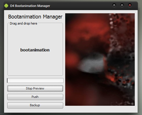 bootanimation manager