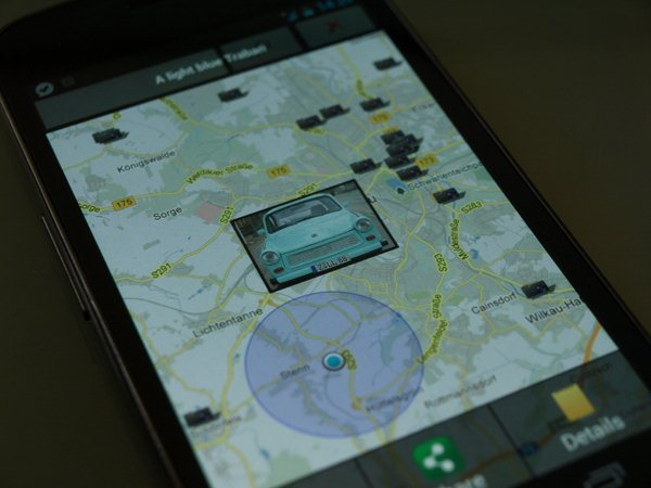 Flickr Earth für Android