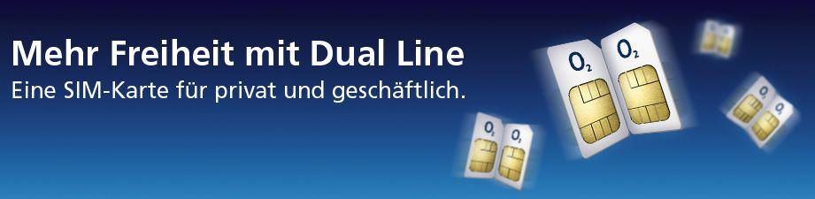 o2 dual line