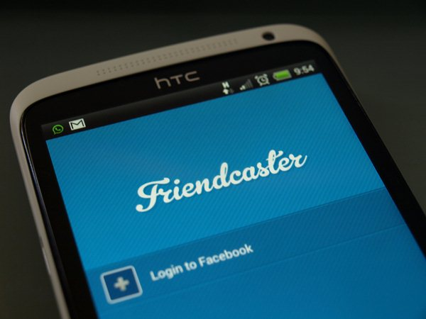 Friendcaster für Android