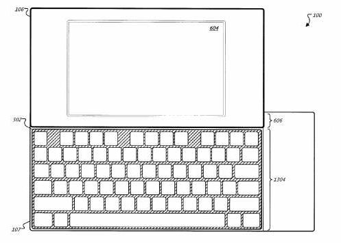 google keyboad patent