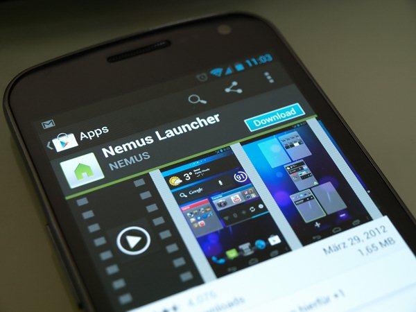 Nemus Launcher für Android