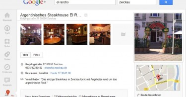 Google Plus Local Screenshot