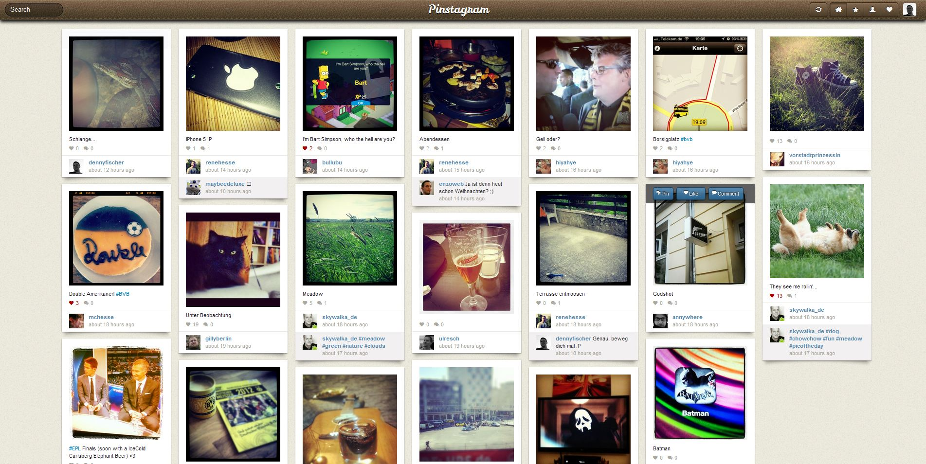 pinstagram screenshot