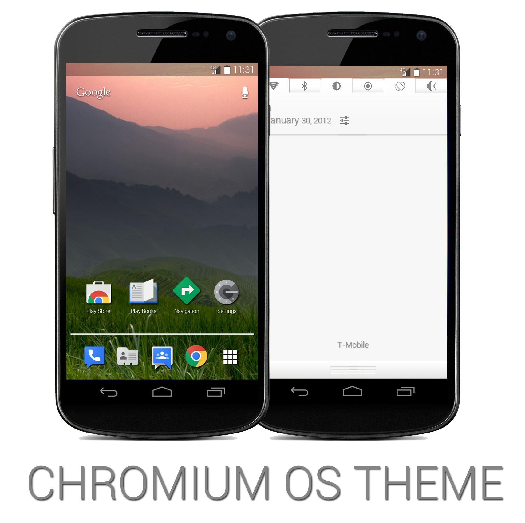 chrome os android konzept