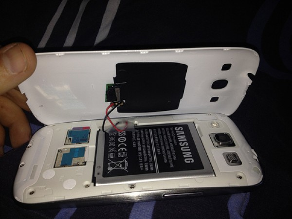Samsung Galaxy S3 Wireless Charger Selbst Gebaut Video