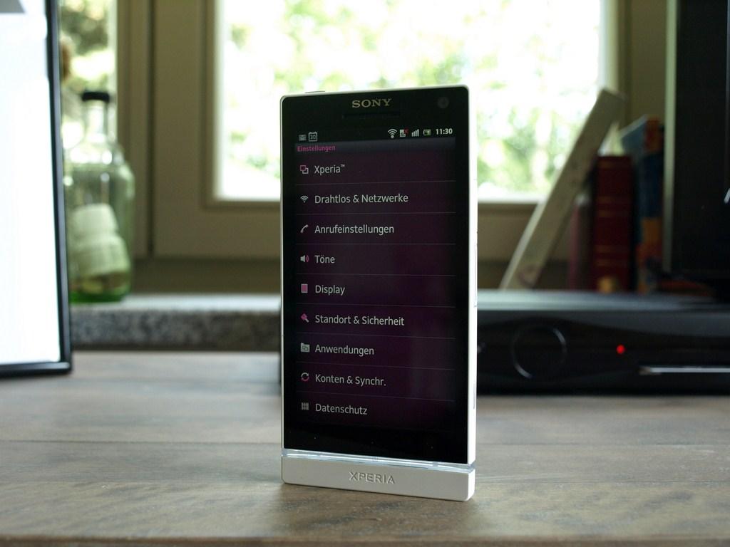 Sony Xperia S Test