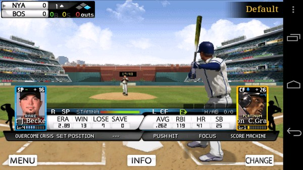9 Innings Pro Baseball 2013 Screenshot Header