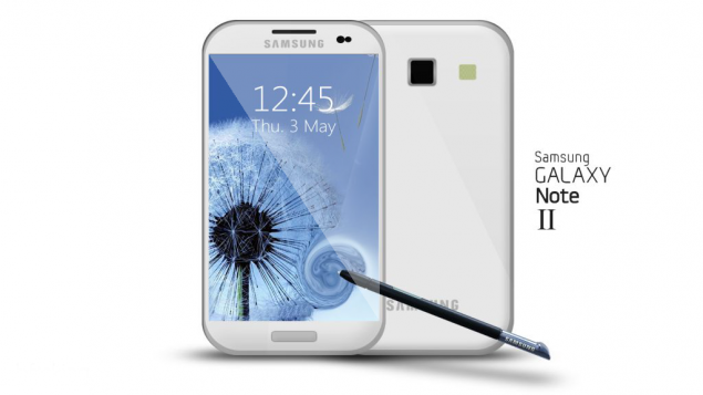 Galaxy Note 2 Mockup