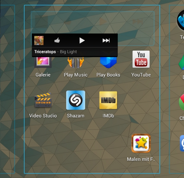 Jelly Bean - Widget Homescreen