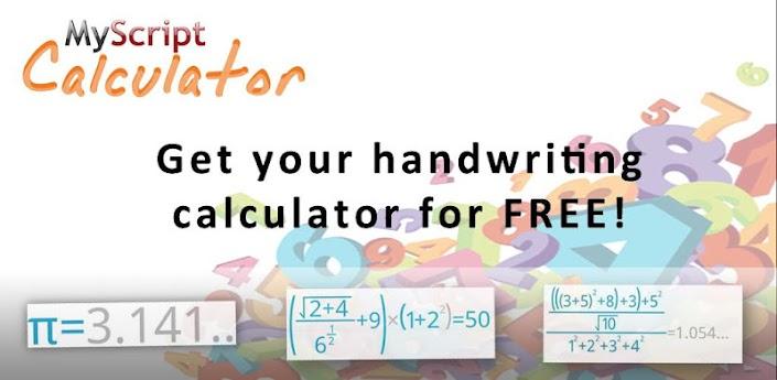 myscript calculator header