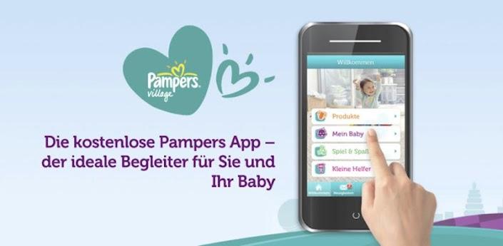 Pampers für Android Header