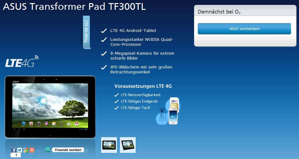 transformer pad tf300tl o2