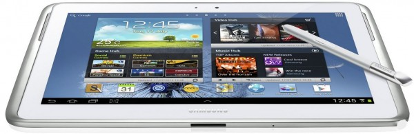 galaxy note 10.1 produktbild 600x195 Samsung Galaxy Note 10.1 im deutschen Unboxing und Hands On