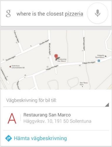 google now modifizierung