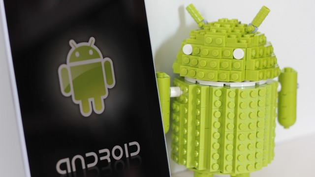 Lego-Bausatz Android