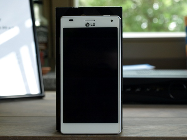 LG Optimus 4X HD Test