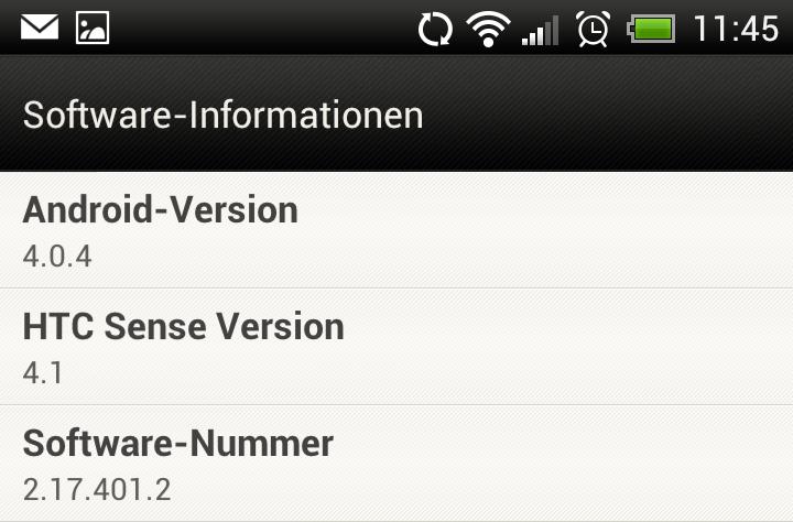 Sense 4.1 update