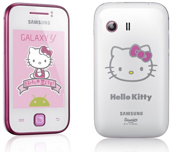 Galaxy Y Hello Kitty Edition