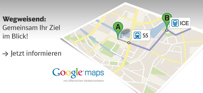 Google Transit Deutsche Bahn