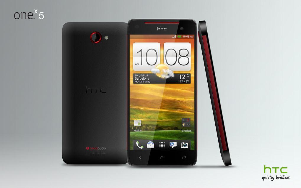 HTC One X 5 Konzept