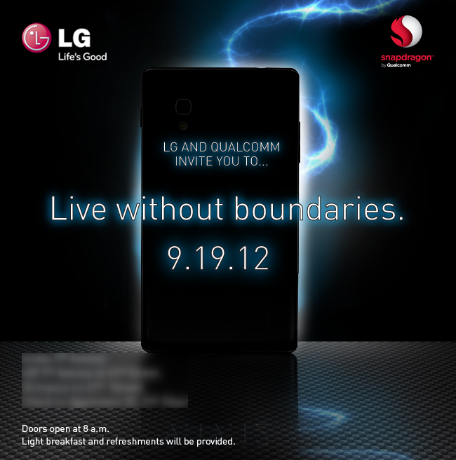 LG Event 19. September 2012