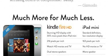 amazon.com kindle fire hd vs ipad mini