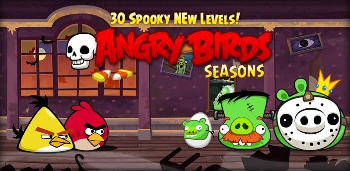 angry birds seasons halloween