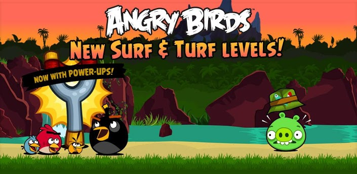 Angry Birds Surf & Turf