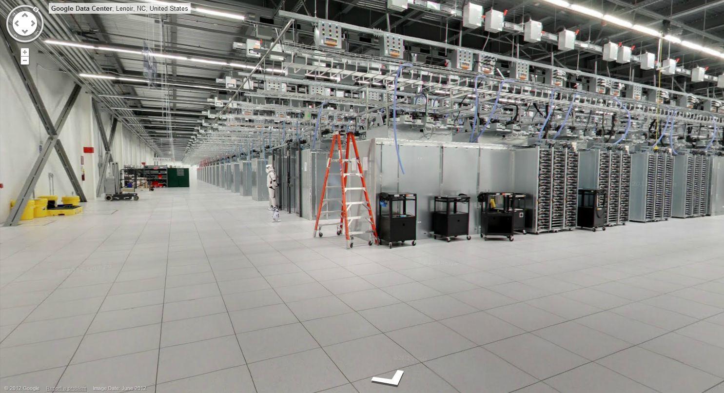 google data center street view