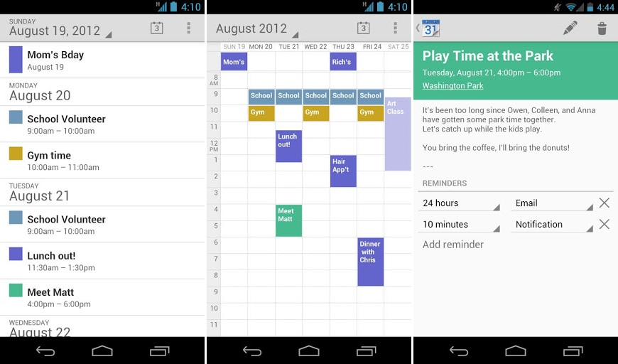Google Kalender Play Store