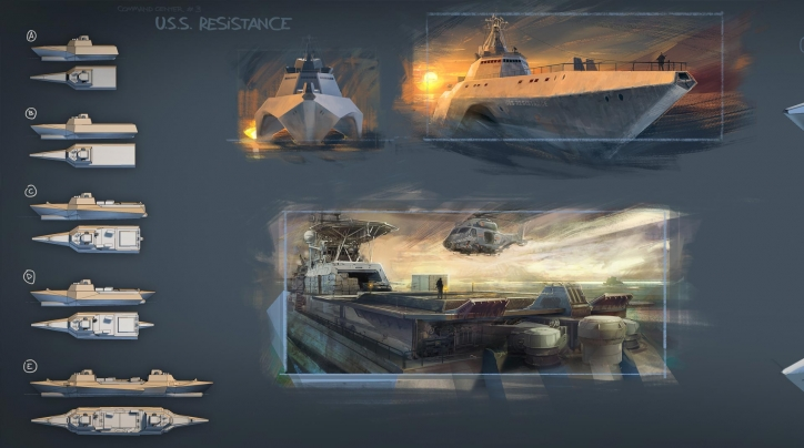 modern combat 4 art works (1)