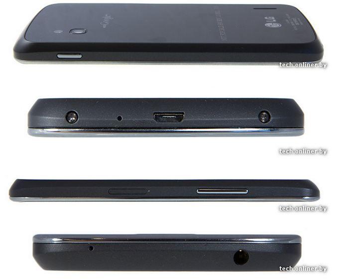 Nexus 4 Seitenansichten