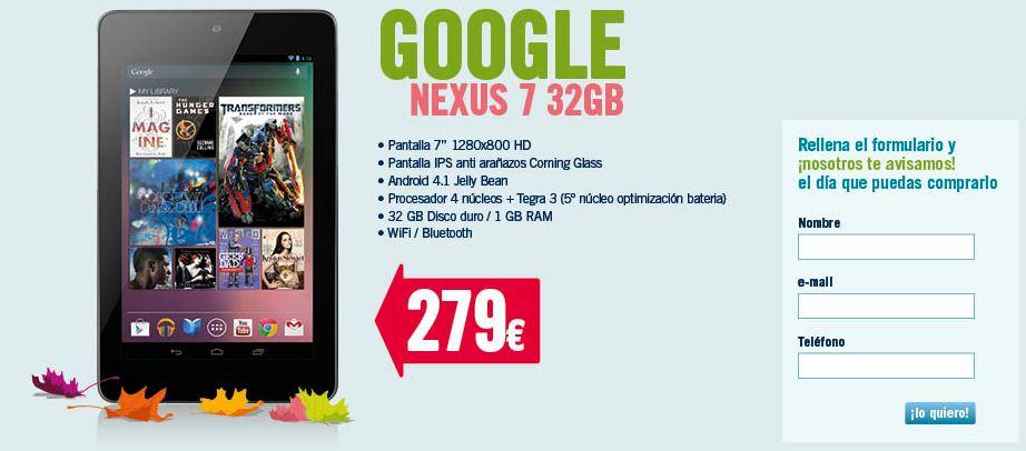 nexus 7 32gb thephonehouse