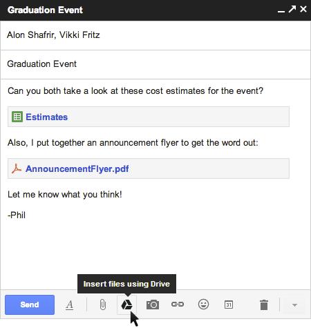 Gmail Gdrive Integration Composer